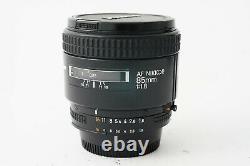 Goal Nikon Af Nikkor 85mm F1.8 Ais Very Good Etat 9.5/10