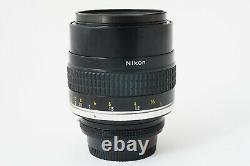 Goal Nikon Nikkor 105mm F1.8 Ais Very Good Etat