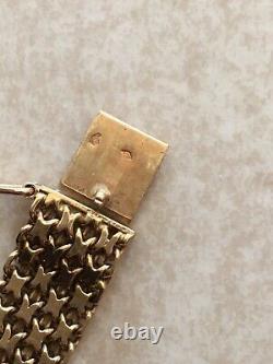 Gold Bracelet 18 Carats Tres Bon State 18.10 Grs