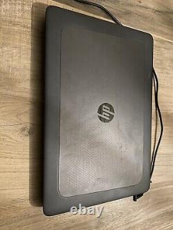 HP Zbook 15 G3 I7 6820hq 512 Ssd 64go Ddr4 Very Good State No Graphic Map