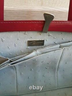 Handbag Thierry Mugler Cuir Rose / Very Good State / Thierry Mugler Vintage