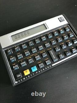 Hp-11c Calculator Very Good Condition + Manual In French