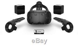 Htc Vive Virtual Reality Headset Complete Pack, Very Good Condition