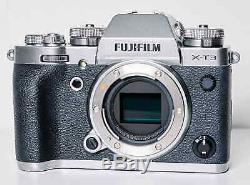 Hybrid Fujifilm X-t3 Body Only Silver Very Good