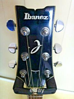 Ibanez Electric Guitar Green Very Good Condition With Instruction Manual D