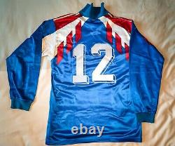 Jersey Worn Team Of France Basile Boli 1989. Very Good Condition. Rare