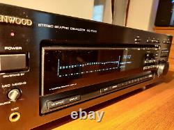 Kenwood Ge-7030 Stereo Graphic Equalizer Very Good Condition