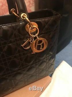 Lady Dior Iconic Handbag In Very Good Condition