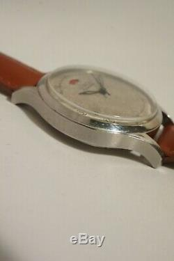Lecoultre To Power Reserve Steel, Automatic, Very Good Condition, 50s