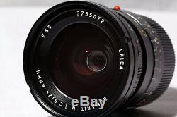 Leica 24 MM 2.8 Elmarit-m Asph (11878) + Hood (12592) Very Good Condition