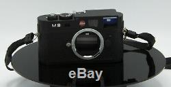 Leica M9 Black Very Good Condition Less Than 1200 Naked Trigger Housing