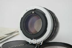 Lens Canon Fl / Fd 55mm 1.2 Very Good + 9.5 / 10