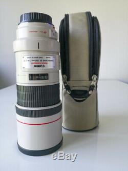 Lens / Lens Canon Ef 300mm F / 4 Is Usm Very Good Condition