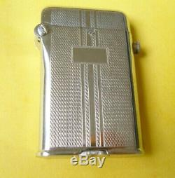 Lighter Petrol Automatic Thorens Two Very Good Condition Lighter Hooks