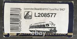 Lima, Train Ho, Sncf, Ref 208577, Bb 67373, Locomotive Diesel, Very Good State