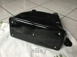 Longchamp Bag Black Patent Leather Very Good Condition