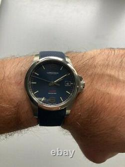 Longines Conquest Vhp Blue Diam 41mm Full Set Very Good Condition