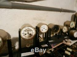 Lot 10 Clocks Movement Old Paris Very Good Condition Including 2 Brocot