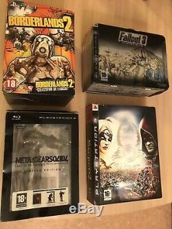 Lot 4 Collector Ps3 Exceptional Complete Pack -very Good State -en See Photos