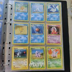 Lot Cards Pokémon Basic Wizards Set 1995 Very Good Condition
