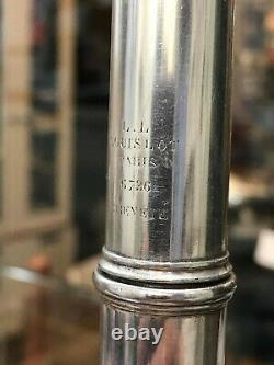 Louis Lot Crossing Flute #6736 Very Good Condition