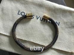 Louis Vuitton Checkered Ebene Bracelet Very Good Condition