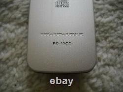 Marantz CD 15 Player + Rc 15 Remote Control In Very Good Condition! (sa 10 12 7 14 16)