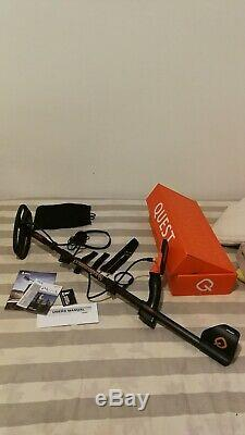 Metal Detector Q20 Quest Very Good Condition Almost New Purchase May 2019