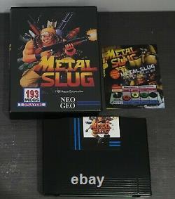 Metal Slug 1 Neo Geo Aes Snk Us Convert Version Very Good Condition Mvs 2 3 Softbox