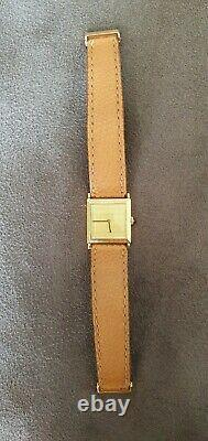 Montre Boucheron Superb In 0r Yellow Vintage Square Very Good Condition
