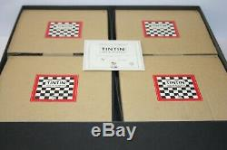 Moulinsart Pixi Game Chess Tintin Complete & In Very Good Condition, Very Rare