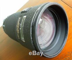 Nikon Ed Telephoto Af Nikkor 80-200mm 12.8 D Very Good Condition