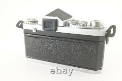 Nikon F Eye-level Tested And Functional Silver Apparatus In Very Bon Status