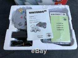 Nintendo 64 Console Nus-001 (eng) Fah Very Good
