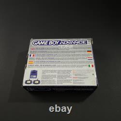 Nintendo Game Boy Advance Console Purple Eur Very Good Condition