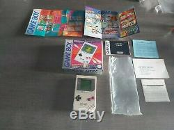 Nintendo Game Boy Console Very Good Fat In Box With Instructions