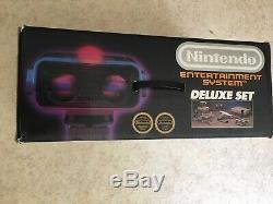 Nintendo Nes Deluxe Rob Set Bandai Very Good Condition Pal Fr