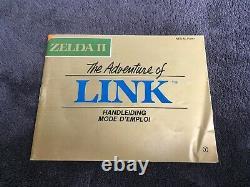 Nintendo Nes Zelda II The Adventure Of Link Bandaï Fah Very Good Full Condition