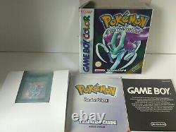 Nintendo Pokemon Crystal Gameboy Color English Version Very Good Condition