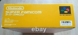 Nintendo Super Famicom Sfc Shvc-001 Console In Full Box Very Good Condition