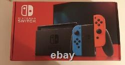 Nintendo Switch Neon Console, 32gb, Blue And Red Joy-con Very Good State
