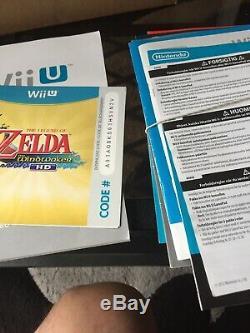 Nintendo Wii U Zelda Premium Pack 32gb Collector Very Good Condition