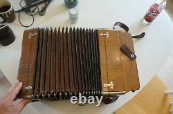 Old Accordion Brive Francois Dedenis Very Good Condition In 1930