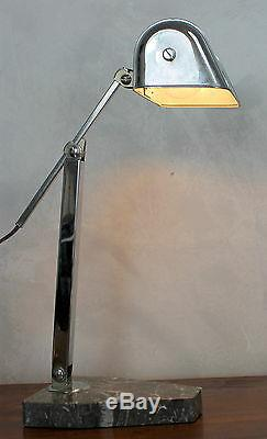 Old Lamp Design 1920/30 Very Heavy, In Good Working Order