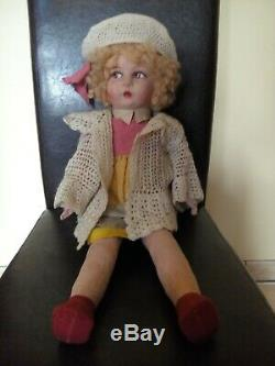 Old Style Doll Lenci 1940, Very Good