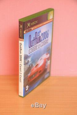 Out Run 2006 Sega Outrun Coast 2 Coast Xbox Pal Very Good Condition
