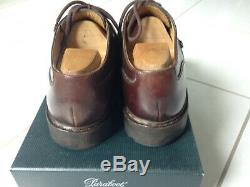 Paraboot Shoes Chambord 7 Brown Leather, Very Good Condition / Leather Shoes