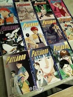Patlabor Complete Volume 1 In 18 (manga From Masami Yuuki) Very Good