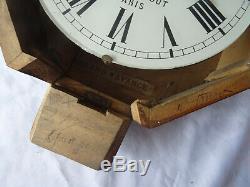 Paul Garnier Pendulum 19s (16 R. Taitbout Paris) Very Good Condition, To Restore