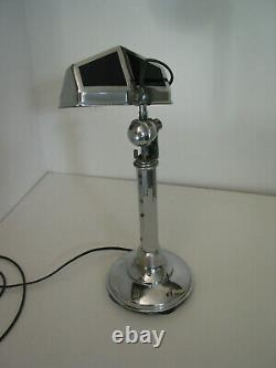 Pirouett Desk Lamp Art Deco In 1930 In Very Good Condition Height Is Adjustable From